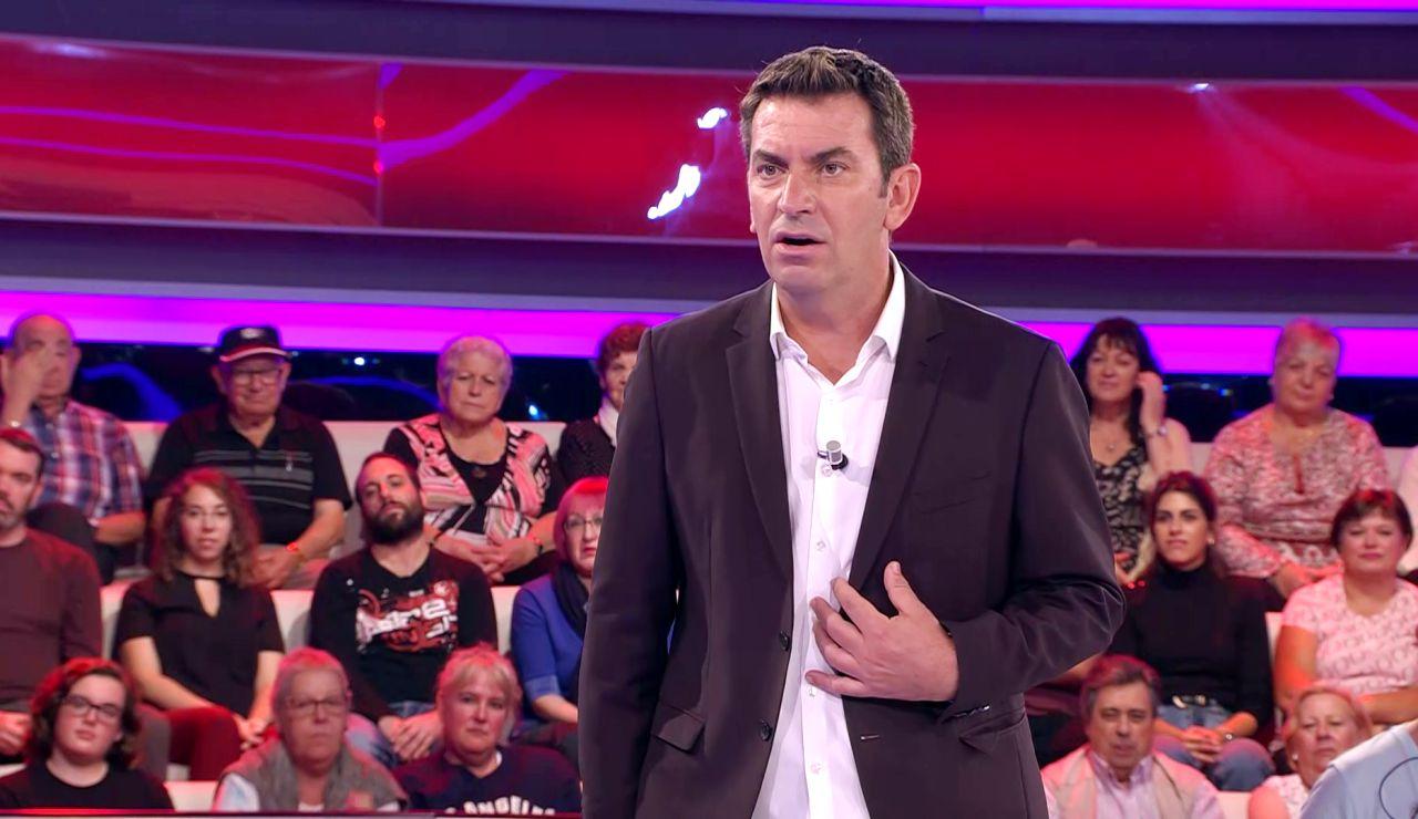 Arturo Valls, molesto en '¡Ahora caigo!' por un malentendido sobre el Camino de Santiago