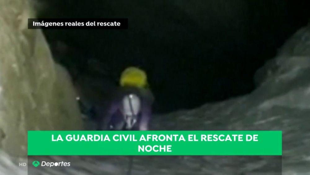 El complicado rescate de la Guardia Civil a dos montañeras en el Pirineo Aragonés