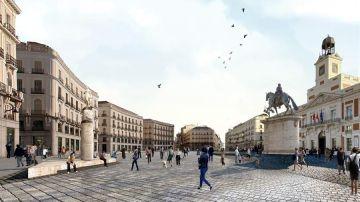 Peatonalizar la Puerta del Sol
