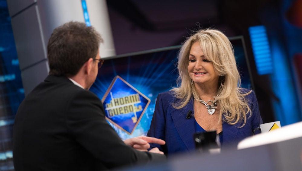 Bonnie Tyler desvela en 'El Hormiguero 3.0' el verdadero secreto de su voz