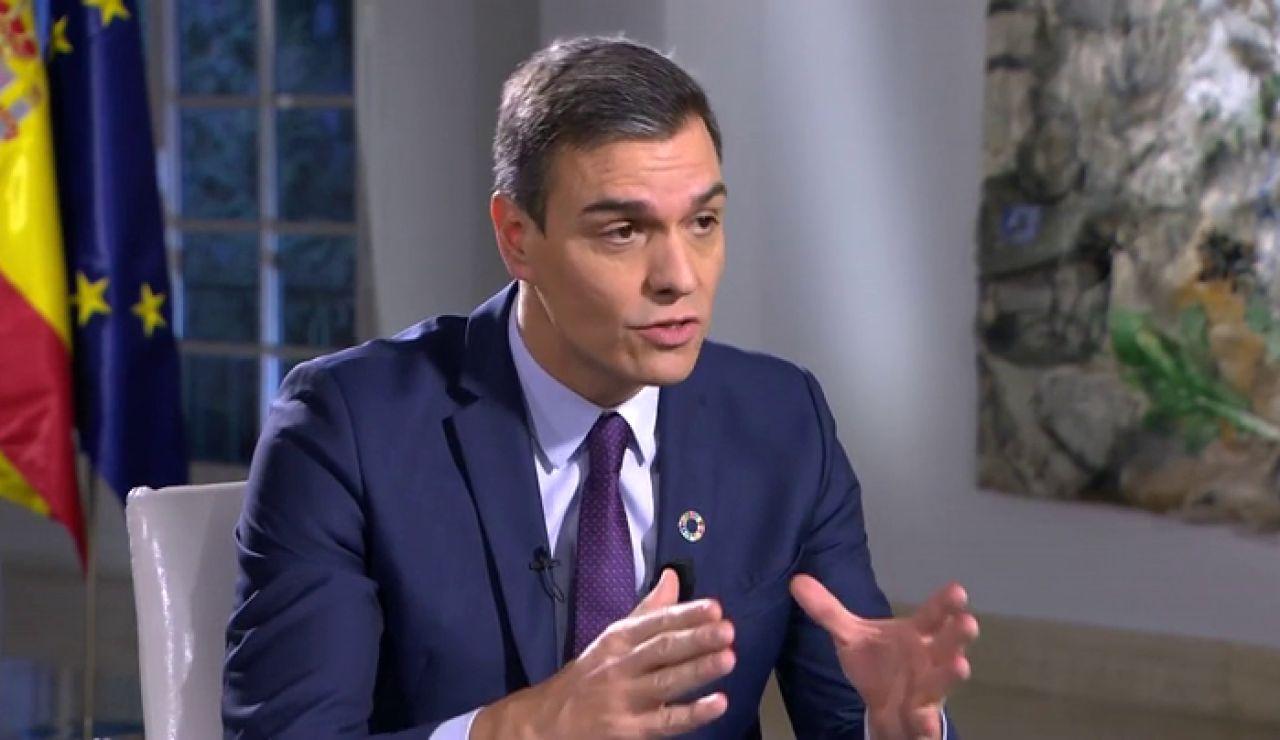 Pedro Sánchez anuncia que se reunirá con Quim Torra la primera semana de febrero