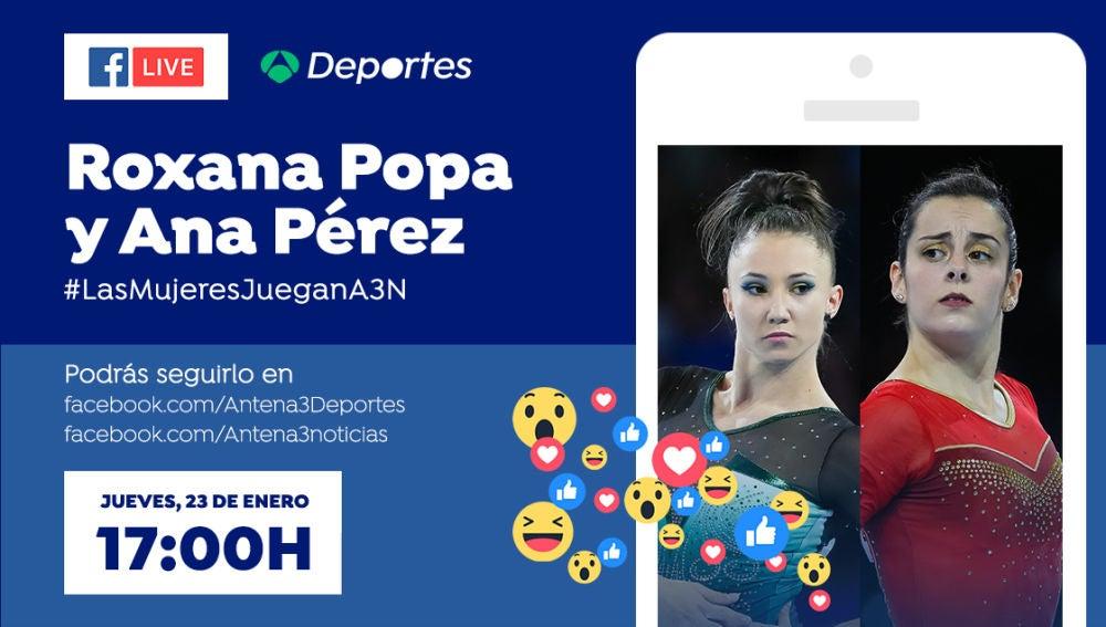 Videoencuentro con Roxana Popa y Ana Pérez