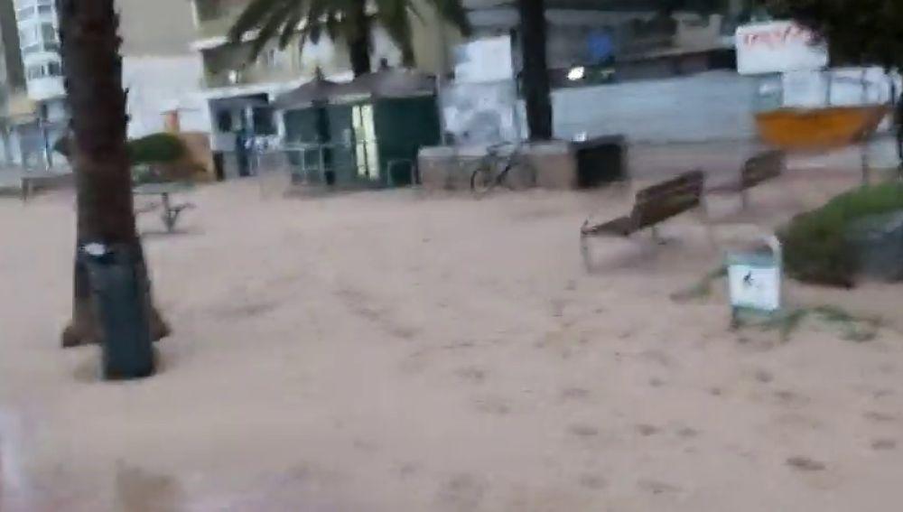 El temporal marítimo
