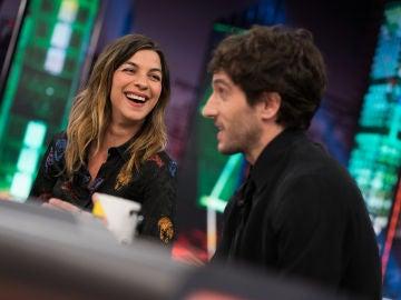 Quim Gutiérrez y Natalia Tena opinan en 'El Hormiguero 3.0' sobre las aplicaciones para ligar