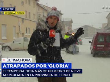 Atrapados por 'Gloria'.