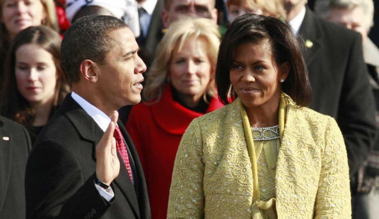 Obama toma posesión en 2008