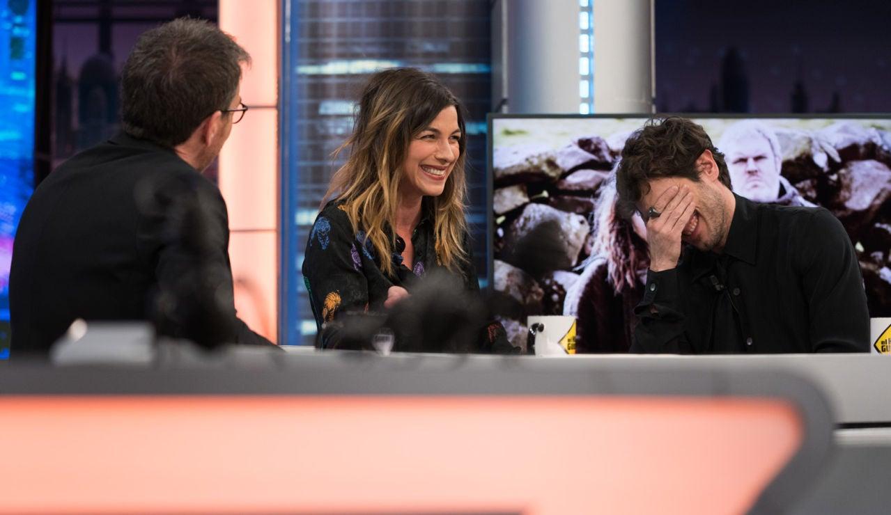 Quim Gutiérrez y Natalia Tena revelan en 'El Hormiguero 3.0' la extraña ventaja de rodar en Hollywood