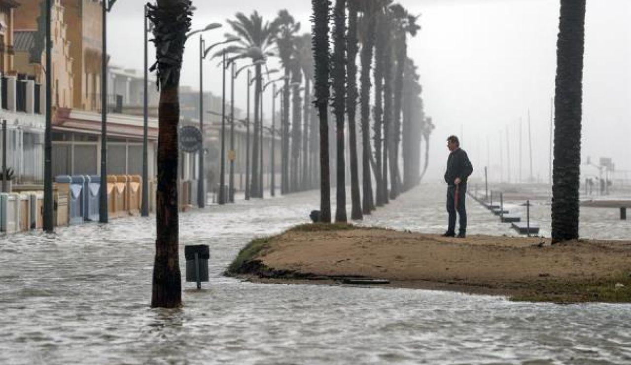 Fuertes lluvias en la Comunidad Valenciana.