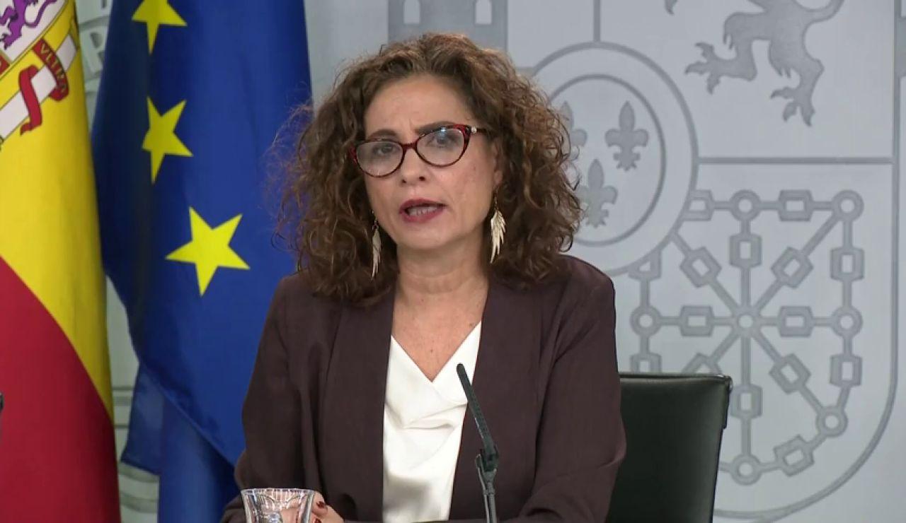 """El lapsus de la ministra portavoz con el """"president Sánchez"""""""
