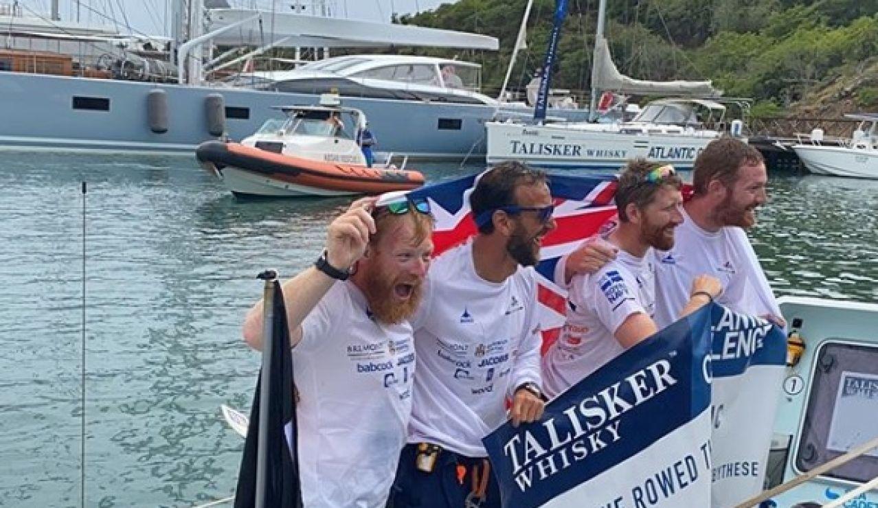 Los ganadores de la Atlantic Challenge