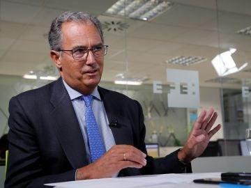 El consejero madrileño de Educación, Enrique Ossorio