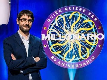Juanra Bonet en '¿Quién quiere ser millonario?'