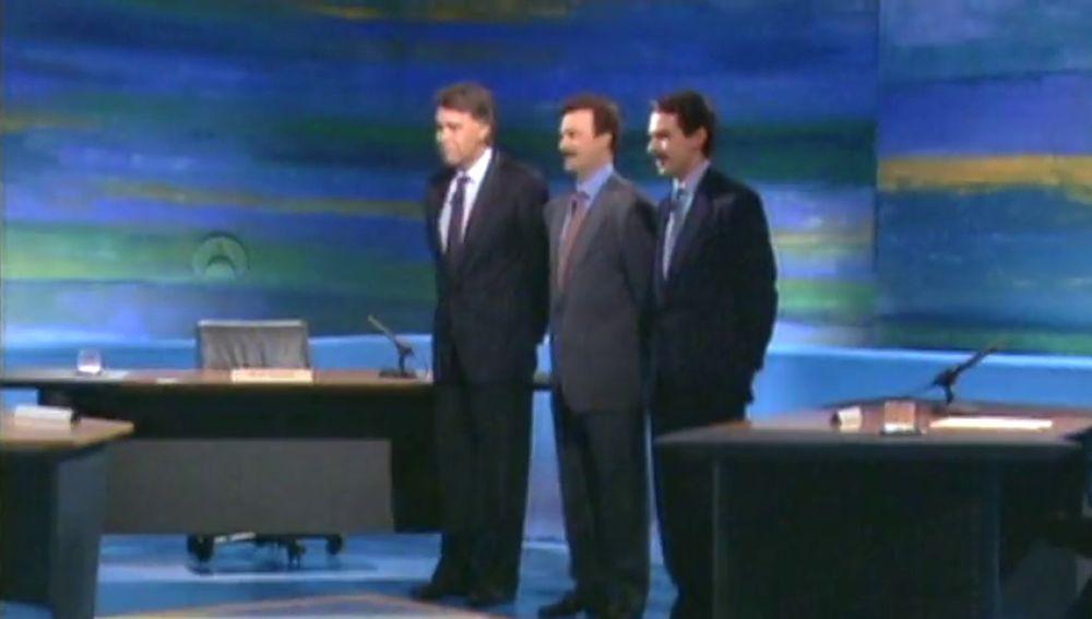 El primer debate televisado en España se emitió en Antena 3