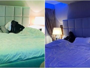 La cama XXL de Romelu Lukaku