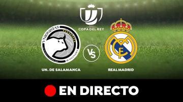 Unionistas de Salamanca - Real Madrid: Resultado y goles del partido de hoy de la Copa del Rey 2020 en directo