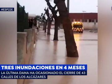 Inundaciones en Los Alcázares