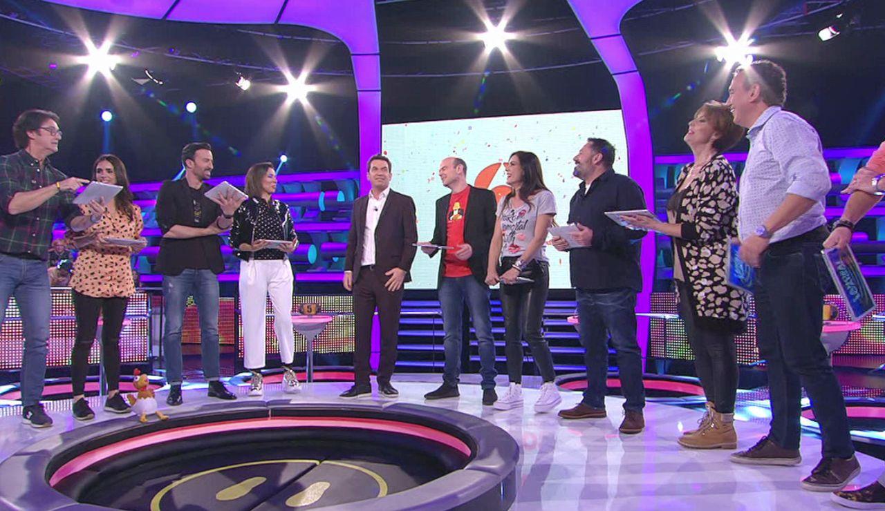 '¡Ahora caigo!' celebra el 30 aniversario de Antena3