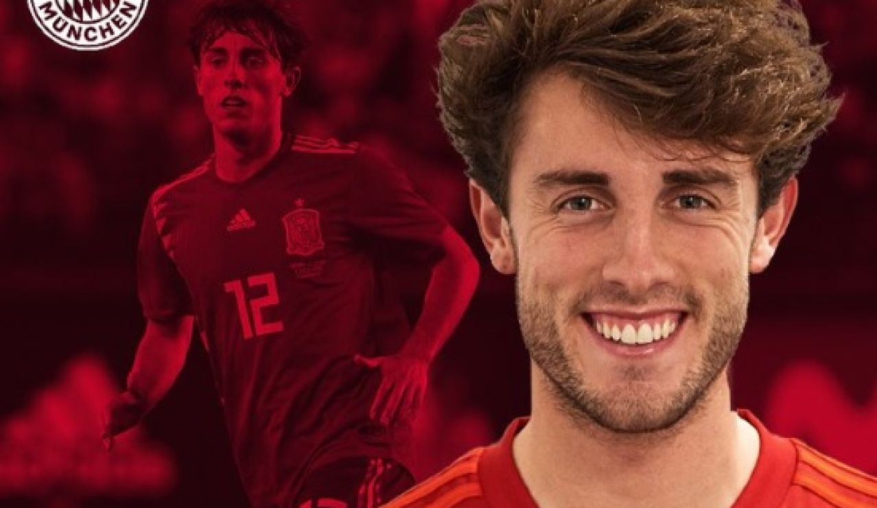 Odriozola, cedido al Bayern hasta final de temporada