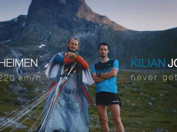 El Romsdalshorn Challenge, el reto entre Kilian Jornet y  Tom Erik Heimen