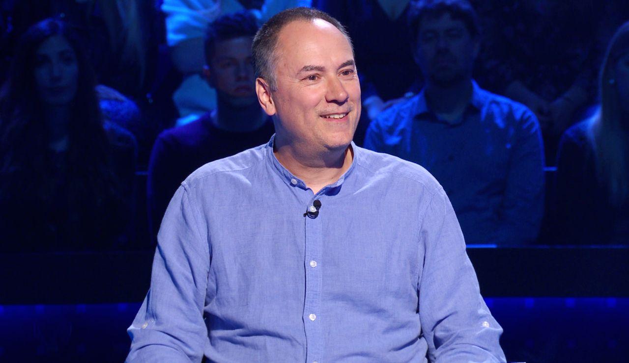 La curiosa relación entre los incendios y la afición de Erundino por los concursos: así lo revela en '¿Quién quiere ser millonario?'