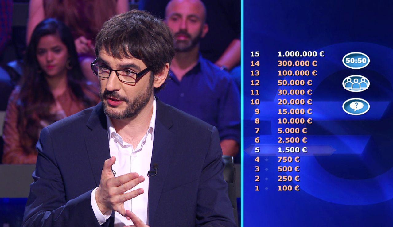 Atrévete con las preguntas del primer programa de '¿Quién quiere ser millonario?'