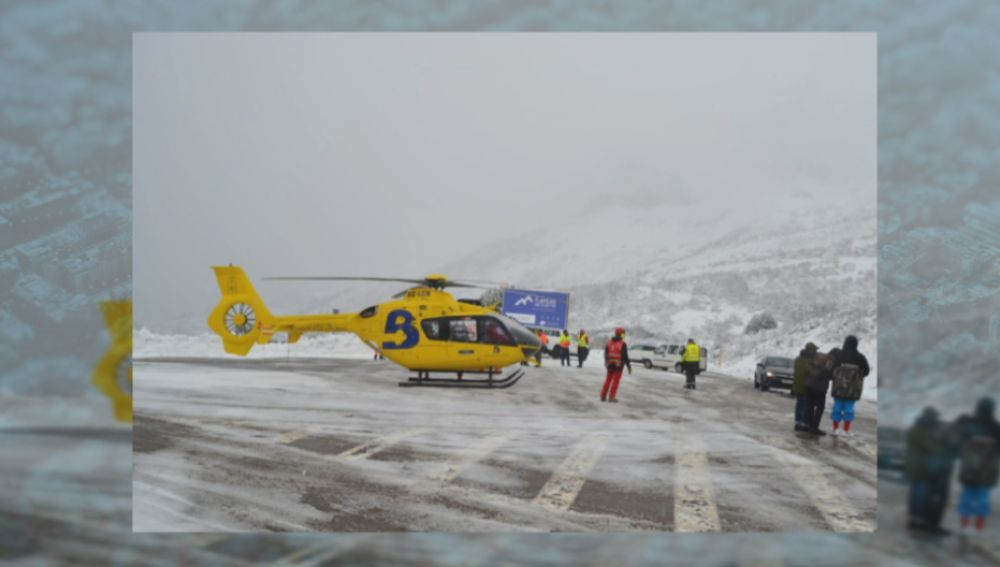 Accidente en Asturias.