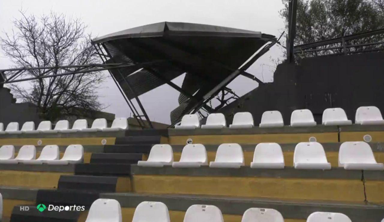tornado campo futbol