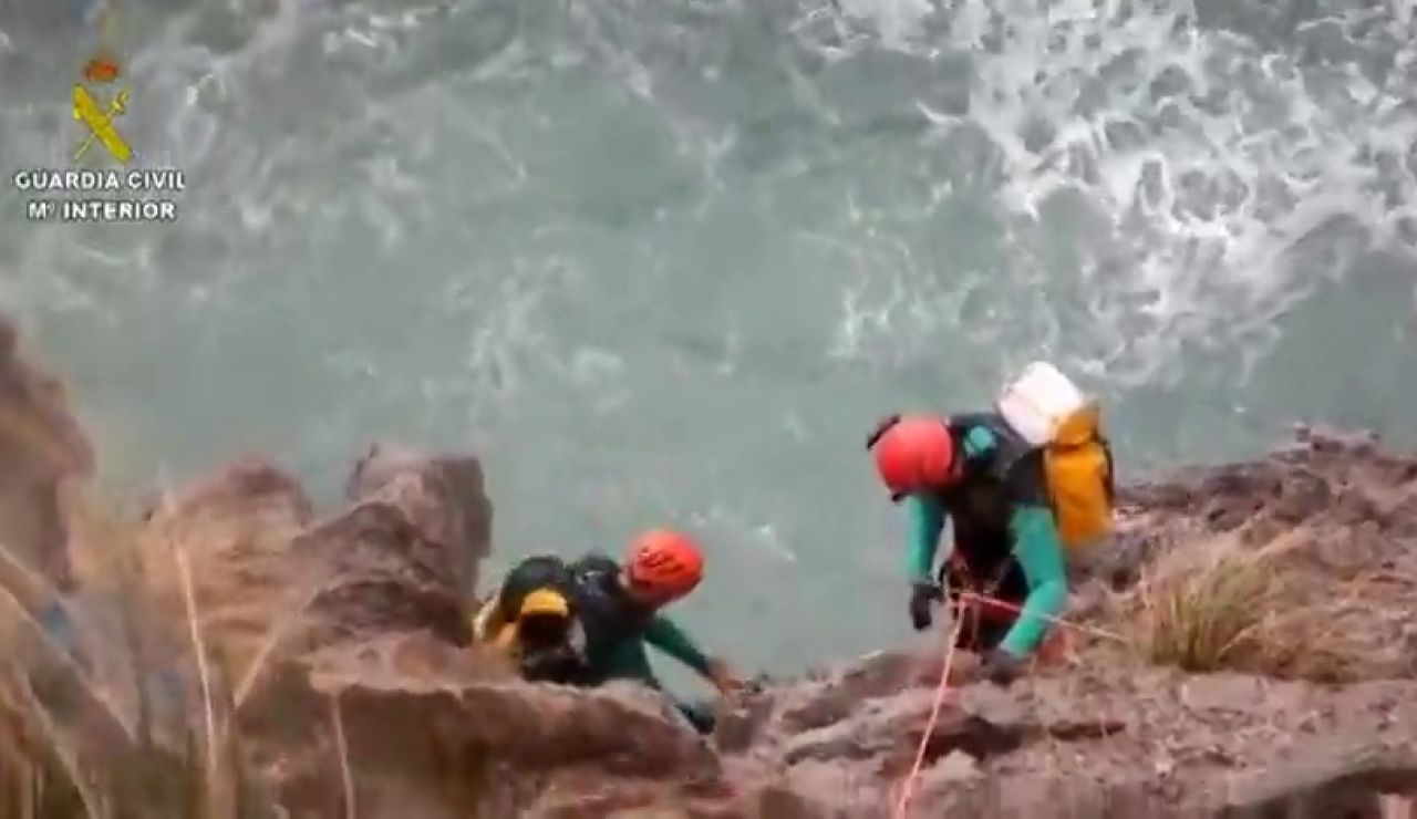 Buscan a un vecino de Palma desaparecido mientras practicaba barranquismo en Fornalutx en pleno temporal