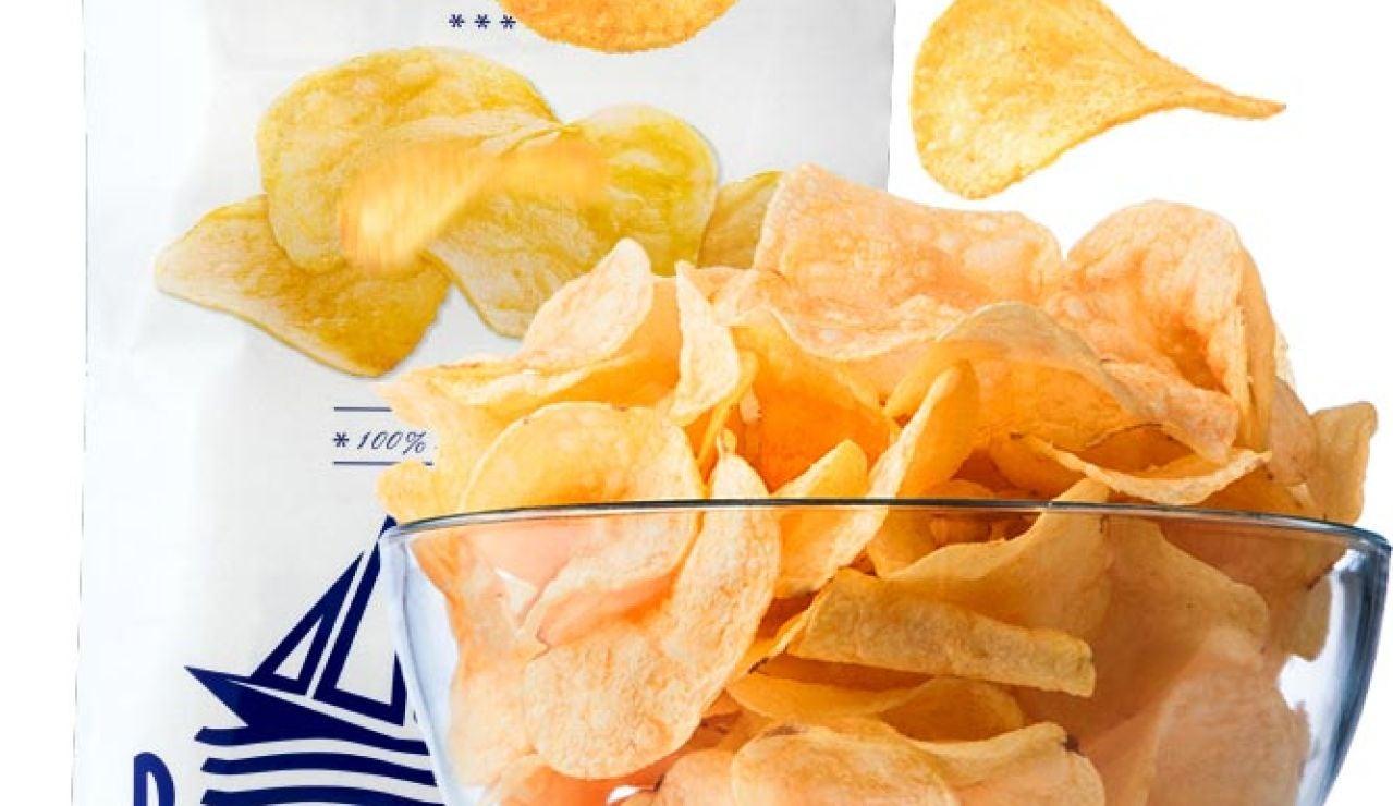 Imagen de una bolsa de patatas fritas