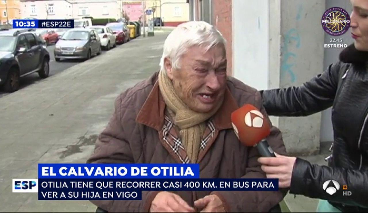 El calvario de Otilia.