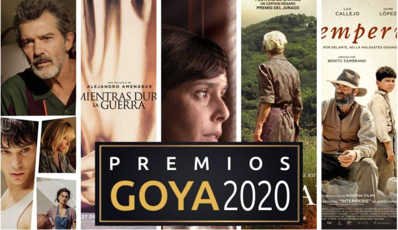 Premios Goya 2020: Dónde ver las películas nominadas a los Premios Goya online