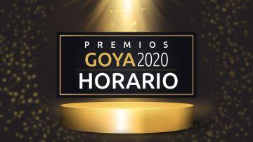 Premios Goya 2020: Horario y dónde ver la gala de los Goya en directo