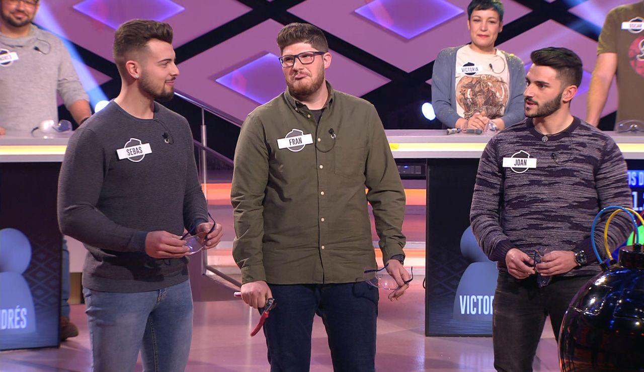 El orangután permite al equipo de 'Los gentlemans'demostrar su intuición en '¡Boom!'