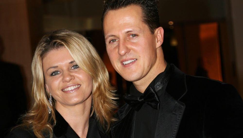 Corinna y Schumacher en 2006