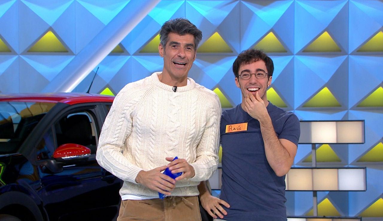 La magistral jugada de Raúl en 'La ruleta de la suerte' para resolver el panel final