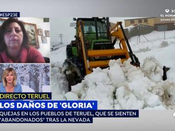 """Los vecinos de Teruel indignados por el abandono tras el temporal: """"No ha venido absolutamente nadie. Exigimos una solución"""""""