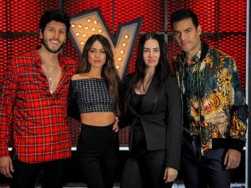 Mala Rodríguez, Carlos Rivera, Tini y Sebastián Yatra, asesores de la próxima edición de 'La Voz' en Antena 3