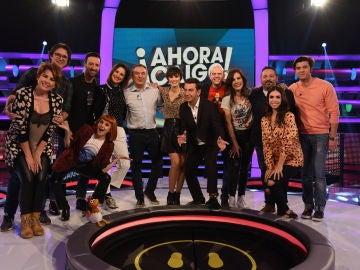 El divertido homenaje de Arturo Valls a Antena 3 por su 30 aniversario en '¡Ahora caigo!'