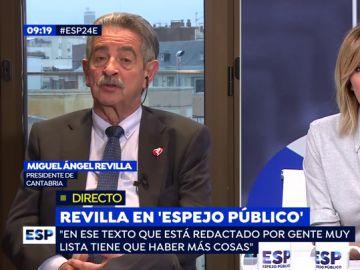 """Miguel Ángel Revilla: """"La Constitución para los independentistas es como un crucifijo para un vampiro"""""""