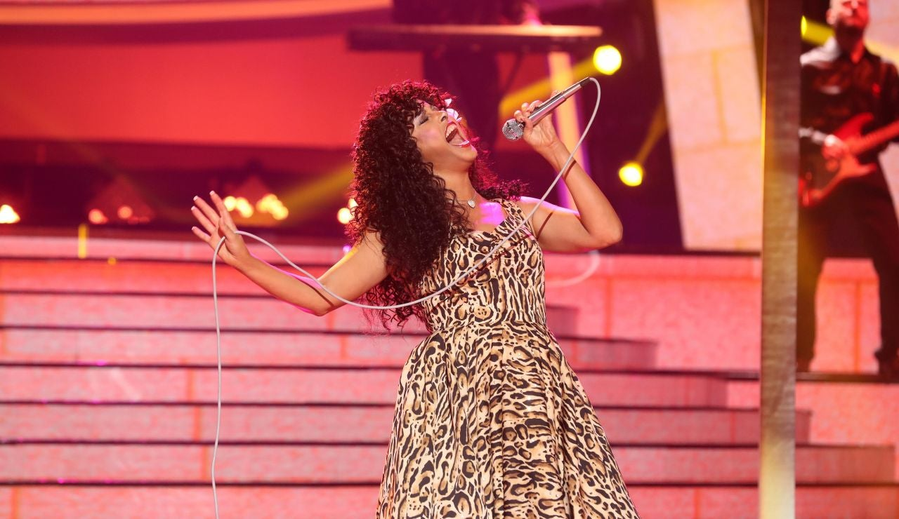 Cristina Ramos, pura potencia como Donna Summer en 'Hot stuff'