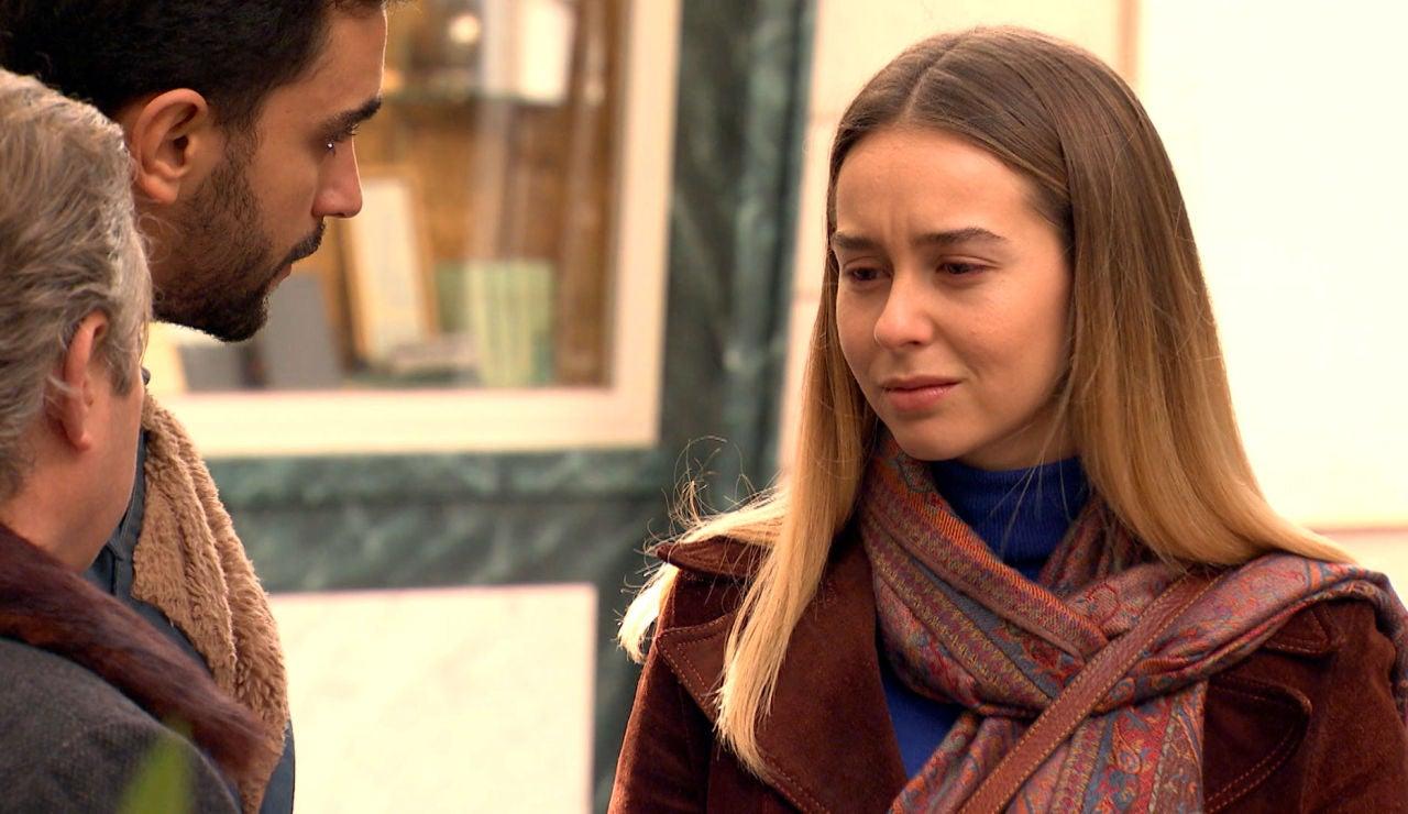 Sebas, pendiente de Luisita en uno de los momentos más duros de su vida