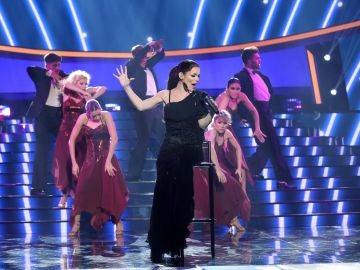María Isabel disfruta en 'Así fue' como Isabel Pantoja