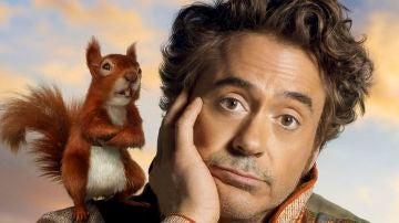 'Las aventuras del Dr. Dolittle', con el actor Robert Downey Jr.