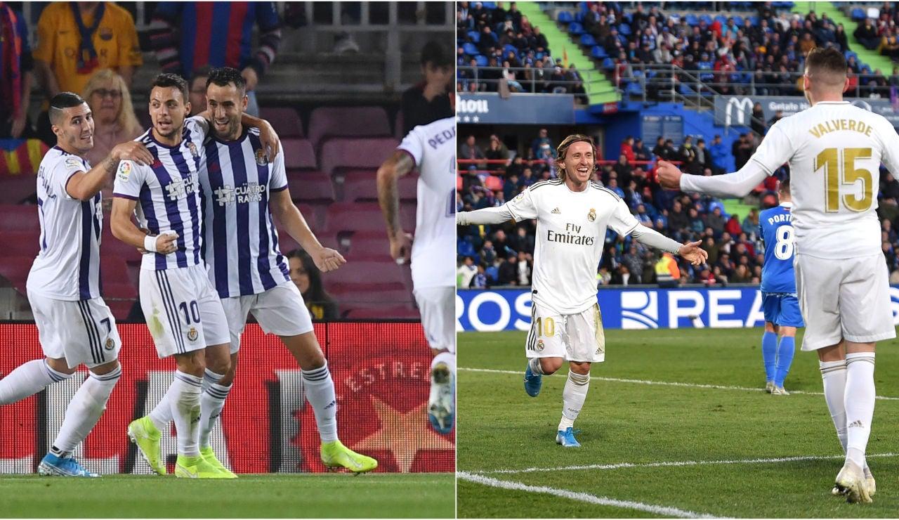 Valladolid vs Real Madrid, partido de Liga