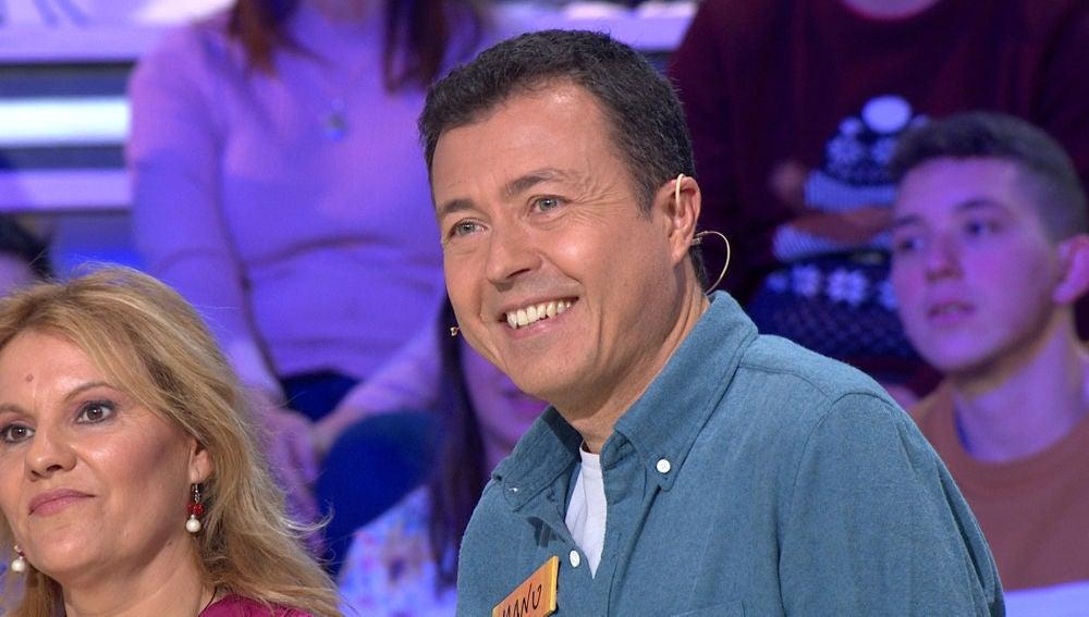 El secreto del éxito de Manu Sánchez, desvelado en 'La ruleta de la suerte'