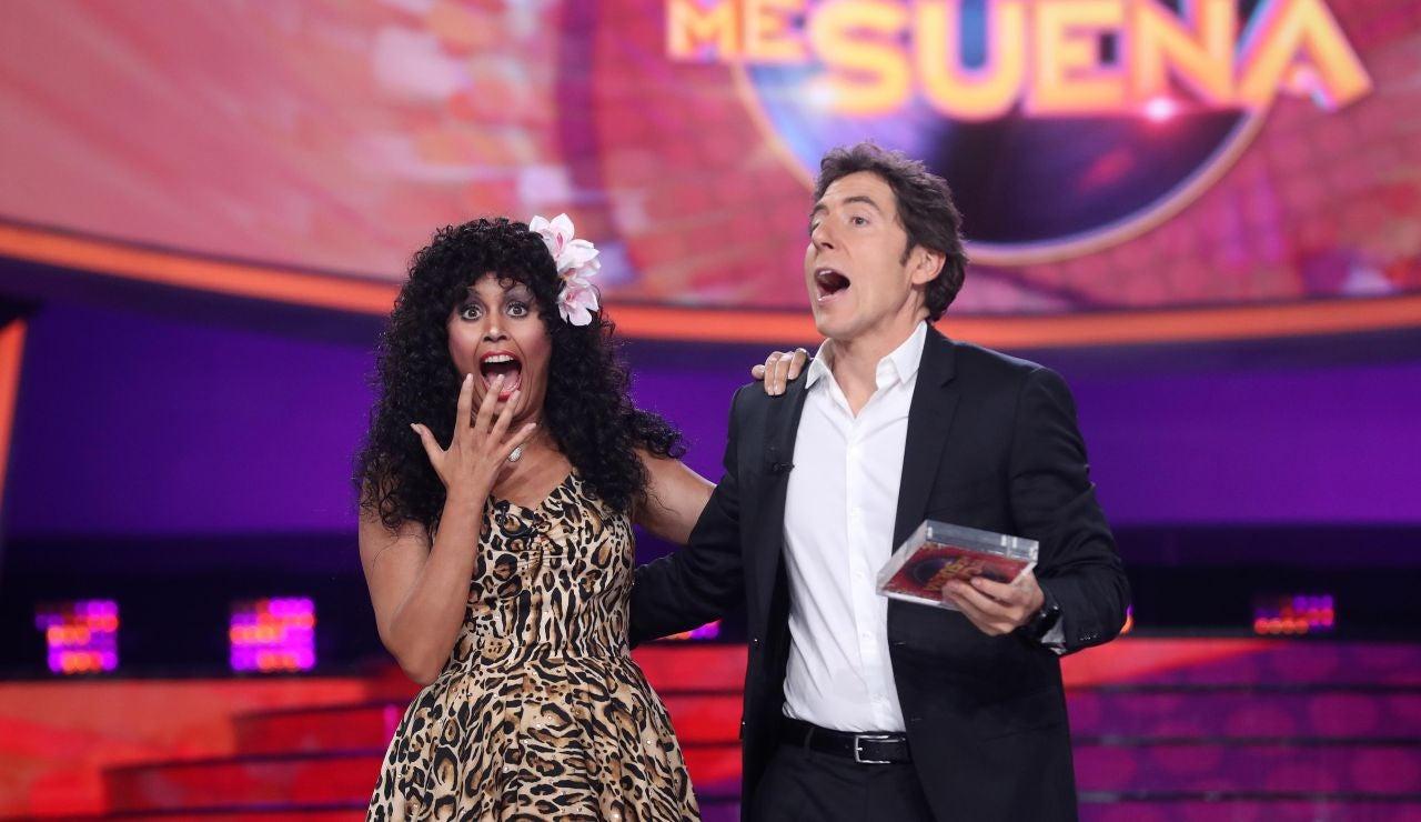 Cristina Ramos gana la tercera gala de 'Tu cara me suena'
