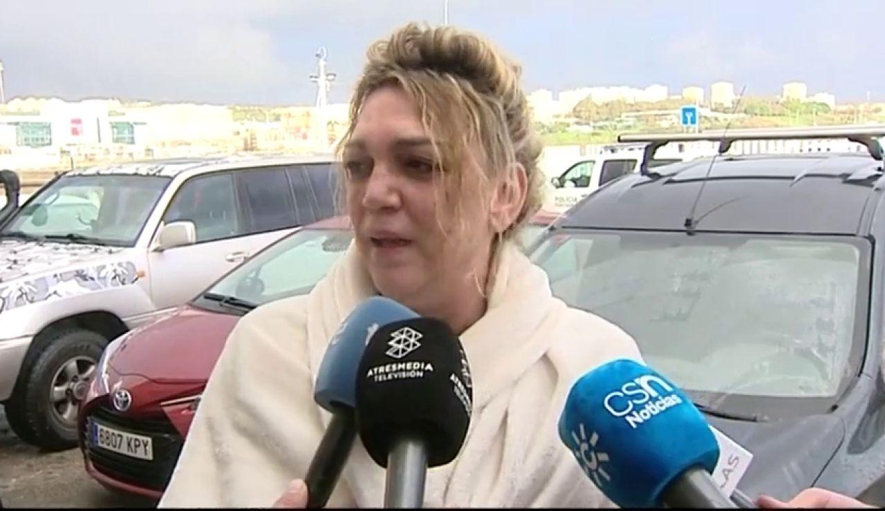 """La mujer de uno de los marineros desparecidos en Cádiz: """"Tengo fe, espero que estén vivos"""""""