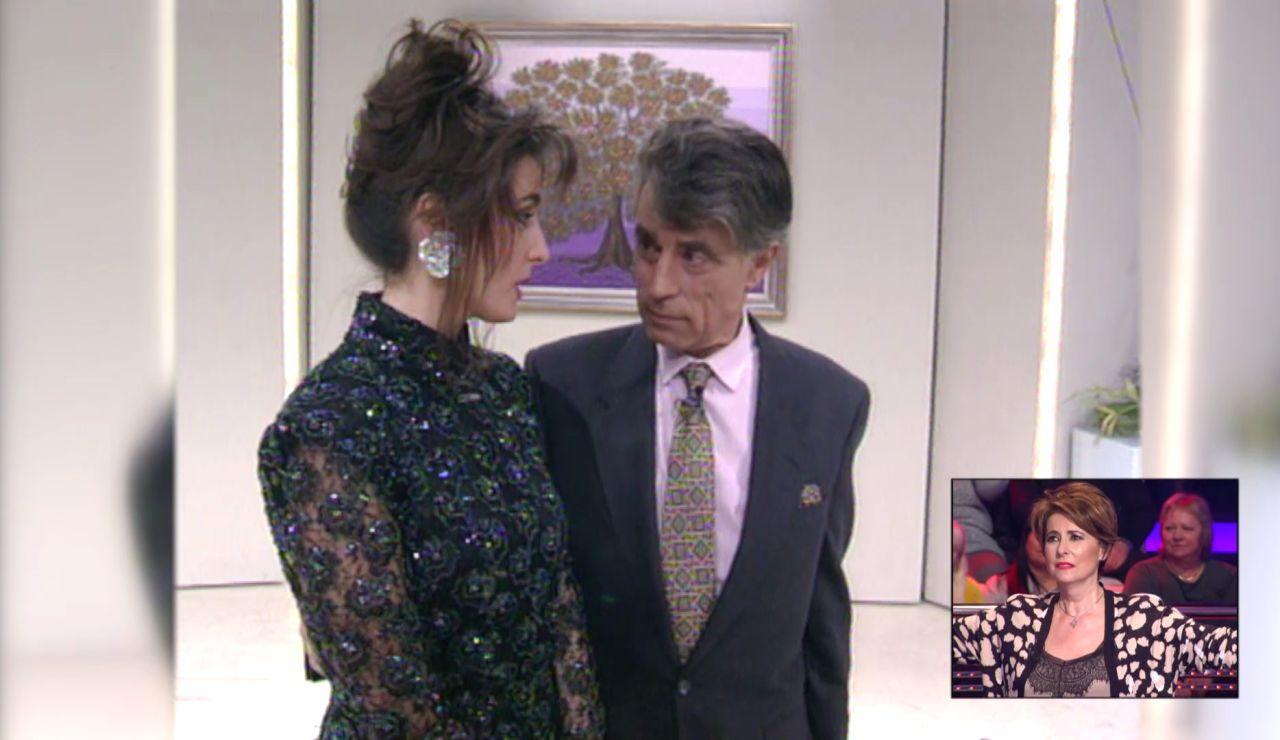 El vídeo de Irma Soriano, el más nostálgico en el especial por los 30 años de Antena 3 en '¡Ahora caigo!'