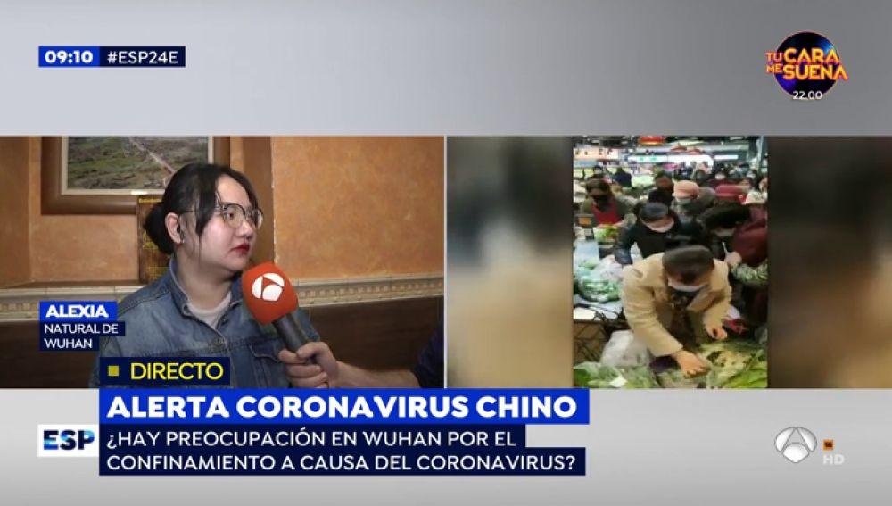 Alerta coronavirus chino.