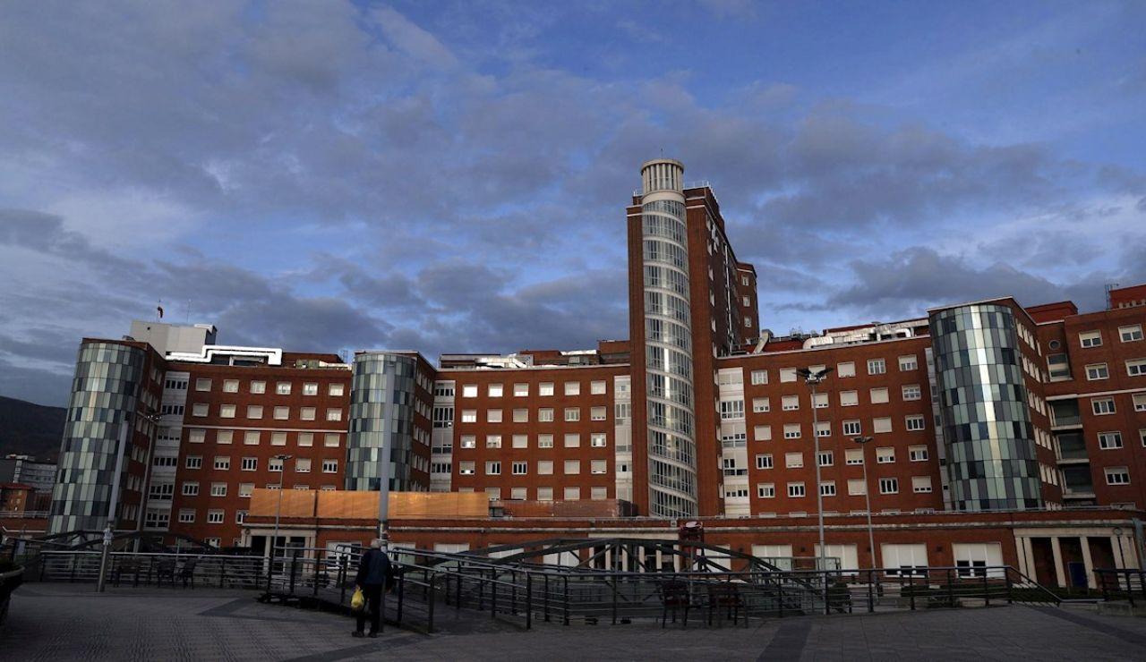 Vista general del Hospital de Cruces